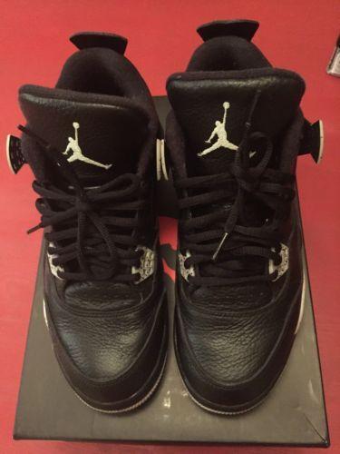 Jordan Retro 4 Oreo Size 8 Yeezy Kobe Kenton 1 2 3