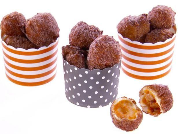Get Giada De Laurentiis's Peanut Butter Candy-Filled Zeppole Recipe from Food Network