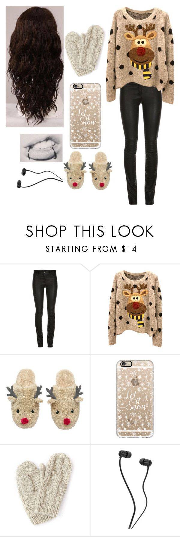 """Christmas Eve outfit"" by girlie-kendrick ❤ liked on Polyvore featuring Casetify, Bibico, WigYouUp, women's clothing, women's fashion, women, female, woman, misses and juniors"