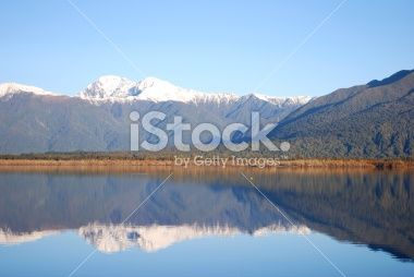 Lake Brunner, Moana, New Zealand Royalty Free Stock Photo