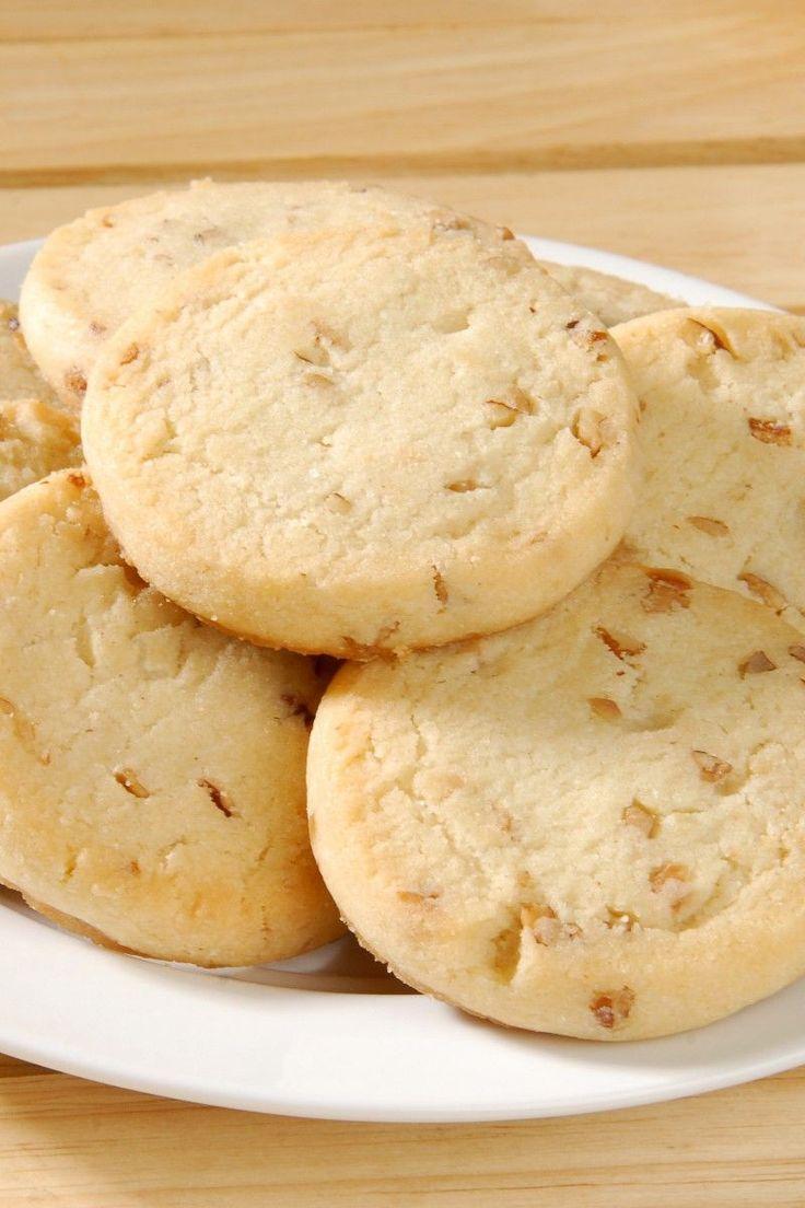 Delicious Pecan Shortbread Cookies Recipe