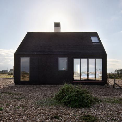 Architecture: Shingle House in Dungeness, Kent, UK by NORD Architecture