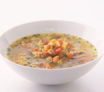 Red Lentil Soup Recipe   Epicurious.com