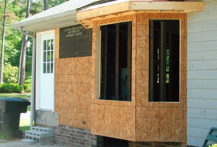 Window frame bay window framing for Florida style windows