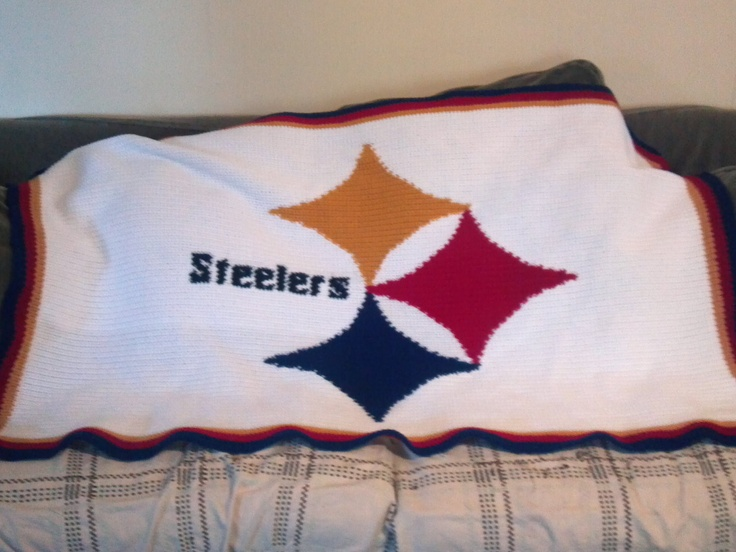 Crochet Pattern Steelers Afghan : 17 Best images about Steelers on Pinterest Pittsburgh ...