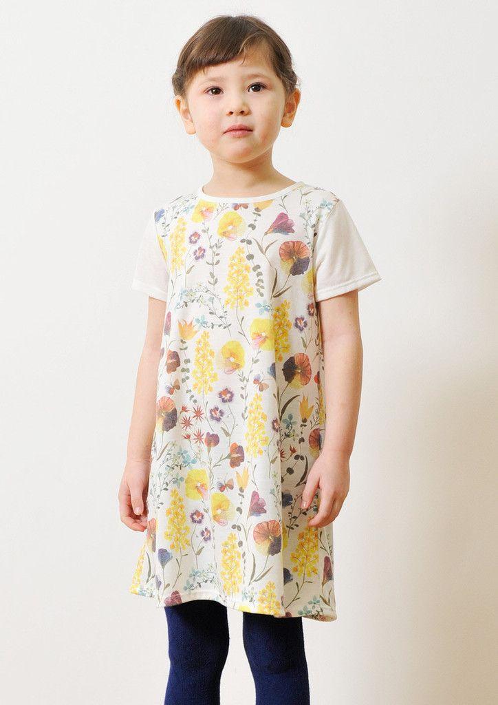hana moyou (Misako Morino Short Sleeve One-Piece) – Design Tshirts Store graniph