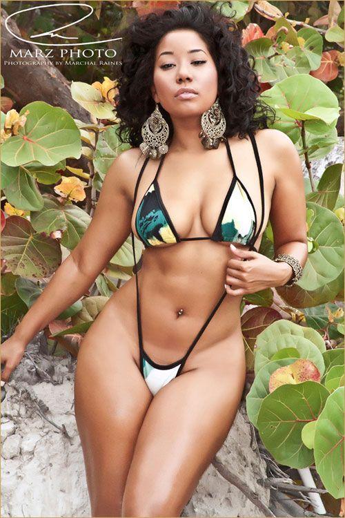 Cute naturally busty ebony hottie 6