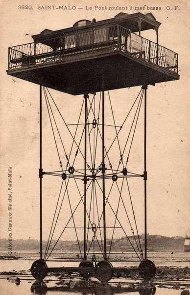 Pont roulant à St. Malo (1904)