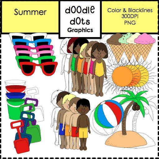 EDUCASONG : {Free} Summer Clip Art
