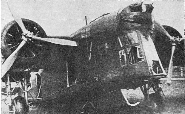 """The understated, nay, invisible beauty of the LSW 4 Zubr (here showing war damage suffered in 1939) inspired this board. """"Zubr"""" means bison, and it probably flew like one, too."""