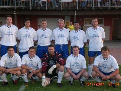 Fußballteam der OeTTINGER Brauerei 2007