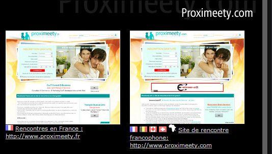 Notre site de rencontre français/francophone:  http://www.proximeety.fr http://www.proximeety.com