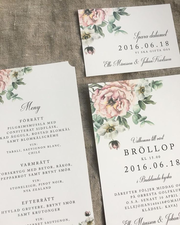 Pastell - inbjudningskort till bröllop eller fest #inbjudningskort #savethedate #sparadatumet #menykort #bröllopsmeny #bröllopsinspo #bröllopsinspiration #trycksakerbröllop #pastellbröllop #rosarosor #eukalyptus #anemon #romantiskt