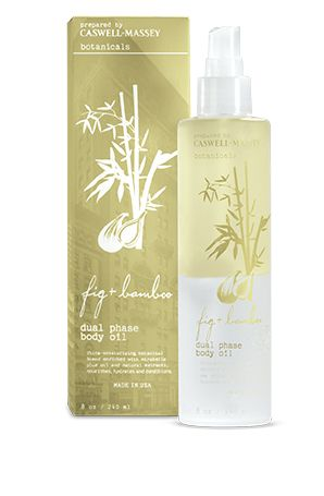 Caswell Massey Botanicals Fig & Bamboo Dual Phase Body Oil Spray — Giftwerks