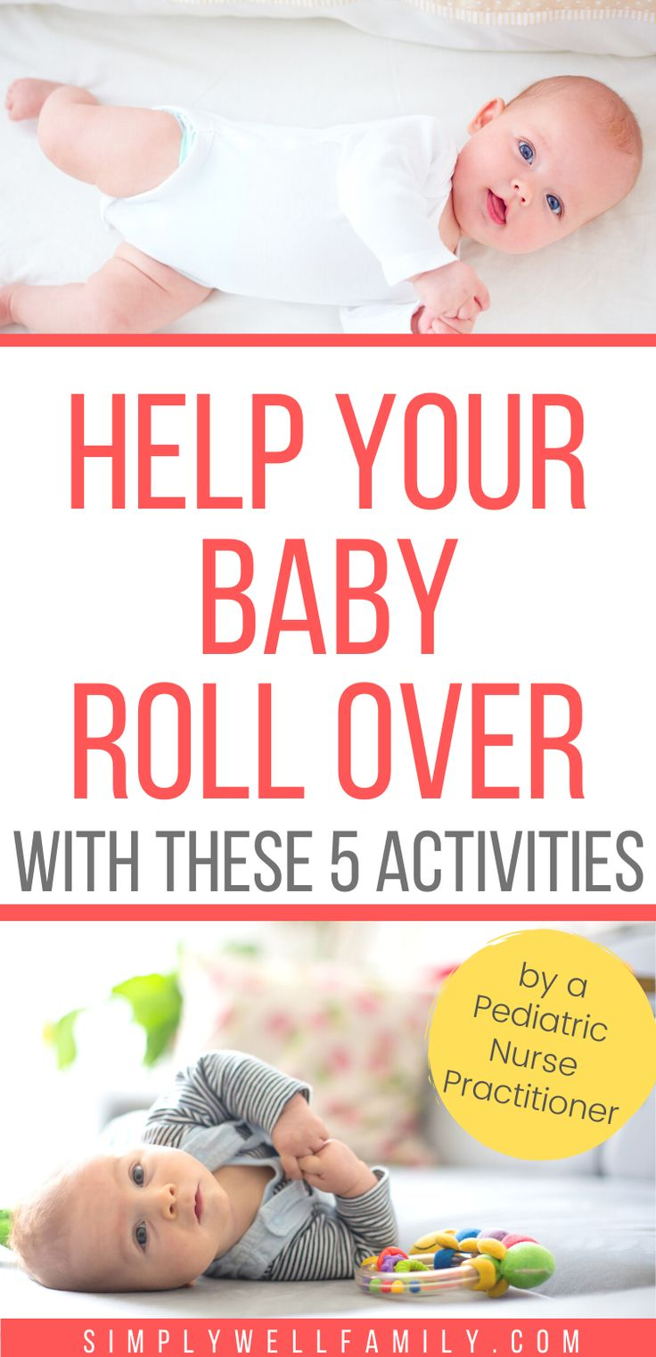 When Will My Baby Roll Over in 2020 | Baby rolling over ...
