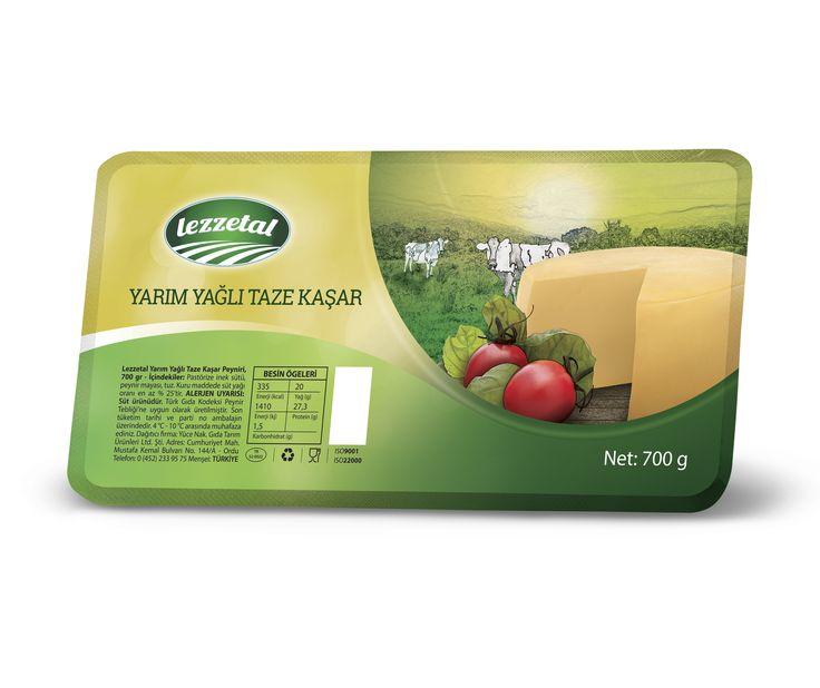 Lezzetal için hazırladığım kaşar peyniri ambalajı. #ambalaj #kaşar #peynir #packaging #cheese