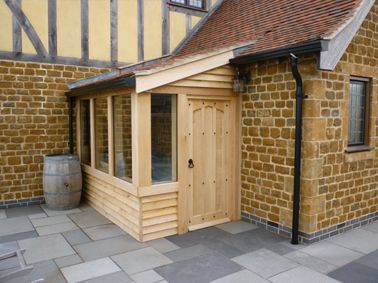Timber Framed Porches and Wooden Porches in Leicestershire
