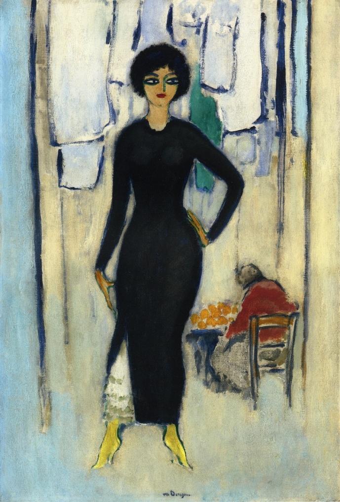 Kees Van Dongen,'Ines Napoli' (ca.1908) || Dutch Fauvist (1877-1968)