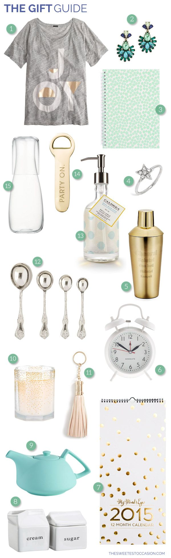 The Gift Guide: Hostess Gifts from @cydconverse
