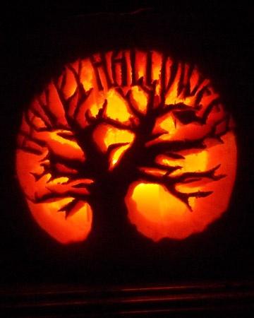 pumpkin stencils happy halloween