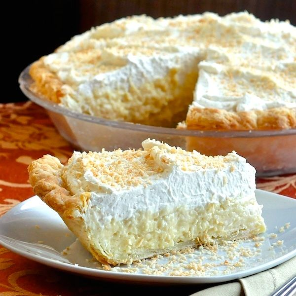 Rock Recipes Popular And: The Absolute Best Coconut Cream Pie