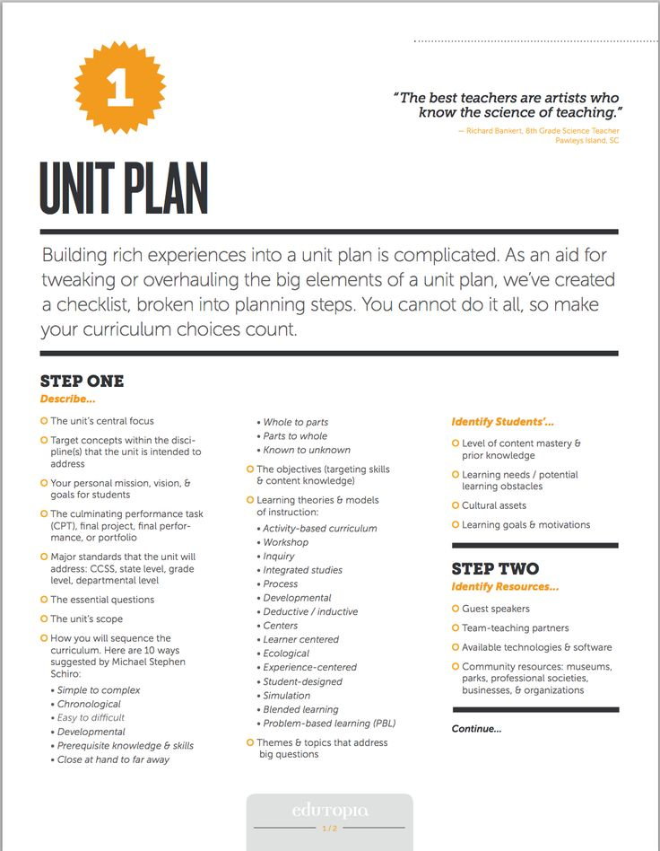 curriculum unit plan 10 write lesson plans 32 11 evaluate the unit 36  designing multidisciplinary integrated curriculum units page 3 high school improvement this approach is de-.