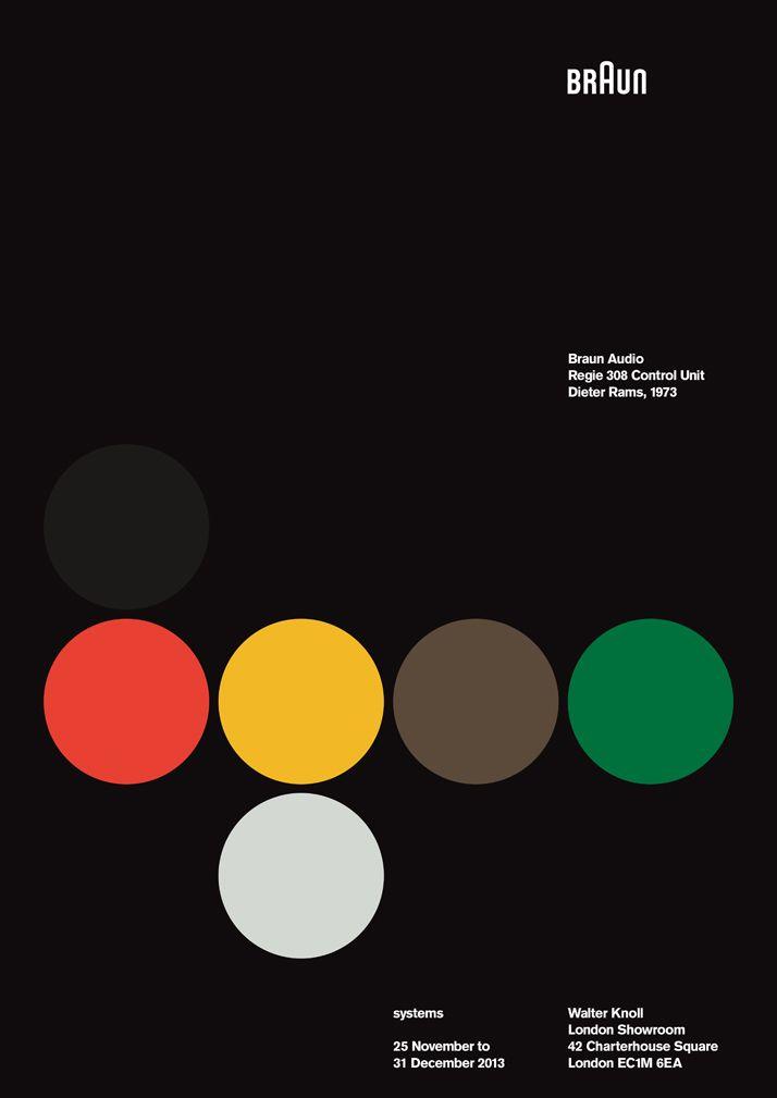 braun audio regie 308 - systems print collection - dieter rams design tribute - ross gunter