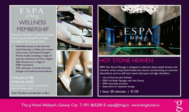 ESPA at The g hotel  - Wellness & Hot Stone Treatment