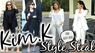 Kim Kardashian Fashion Look for Less | Celebrity Style Steal Celebrity Videos http://celebrity-videos.info/