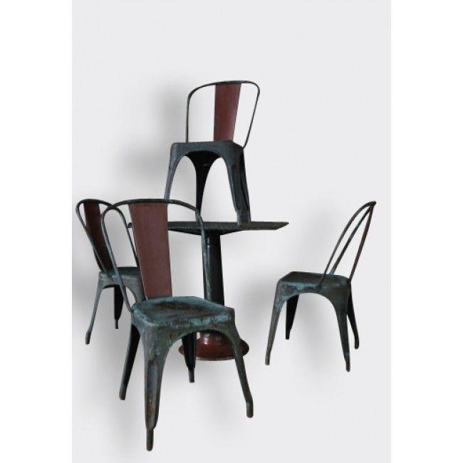 25+ best ideas about chaise metal on pinterest | soudure, metal ... - Chaise Metal Industriel Pas Cher