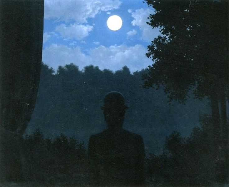 At the Meeting of Pleasure by Rene Magritte