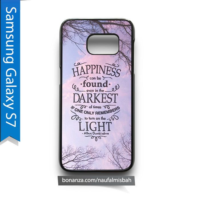 Happiness Harry Potter Samsung Galaxy S7 Case Cover