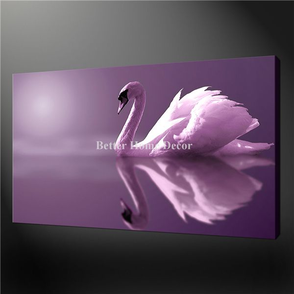Purple Modern Art | Art Painting Pictures Print On Canvas
