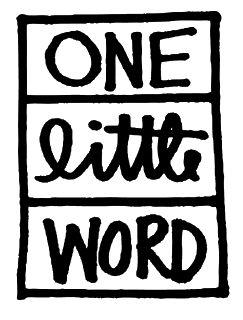 ali edwards one little word 2014