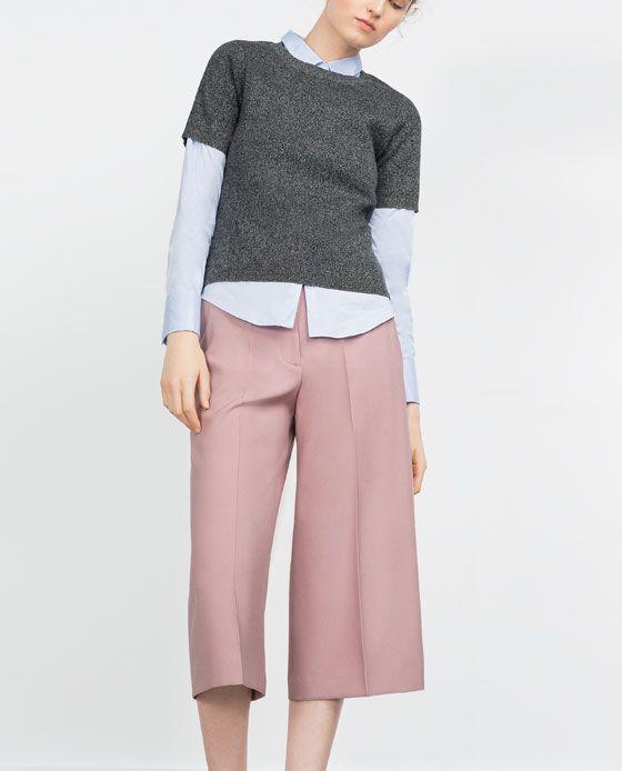 Immagine 2 di PANTALONI CULOTTES di Zara