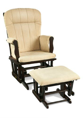 Save $36.00 on Graco Avaalon Glider Rocker with Ottoman, Espresso; only $193.99