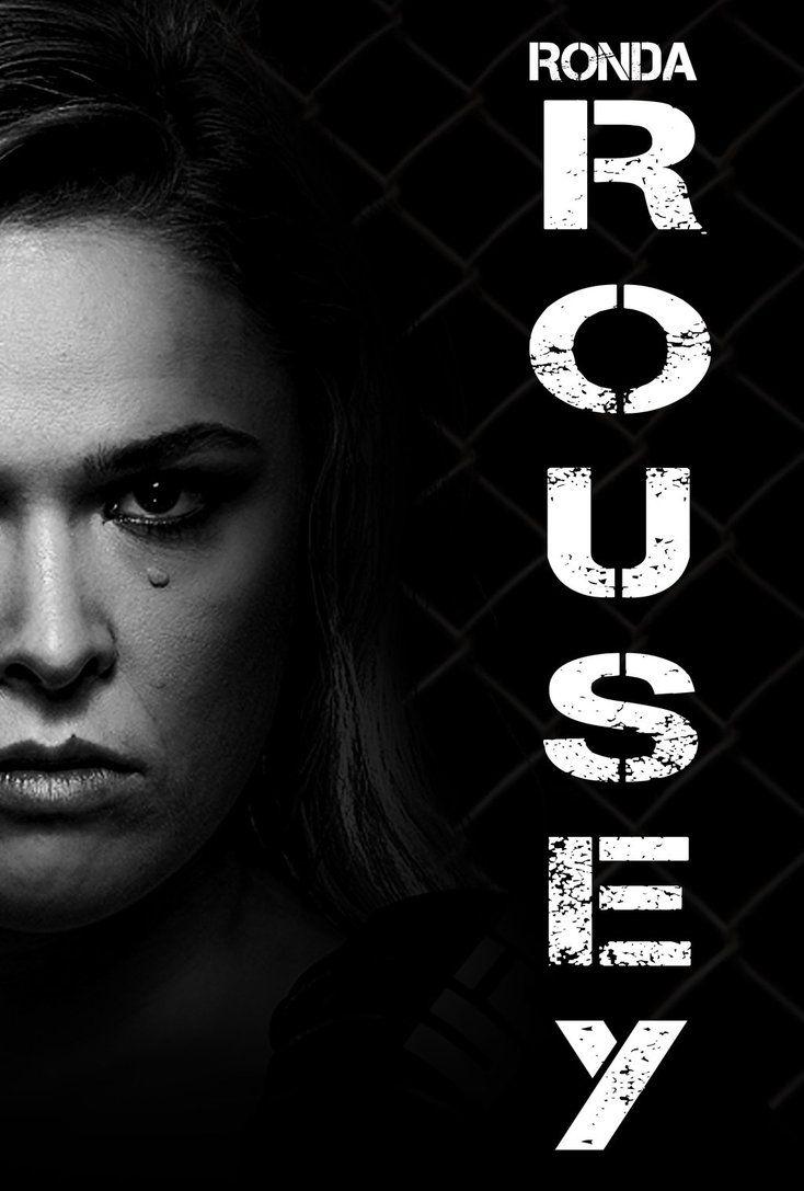 Ronda Rousey 2016 Poster by edaba7.deviantart.com on @DeviantArt