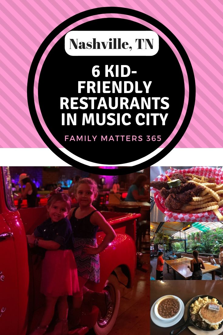 Tonks Are A Main Attraction In Nashville But Not Always Kid Friendly However We Found Some Great Restaurants That Did Leave Us