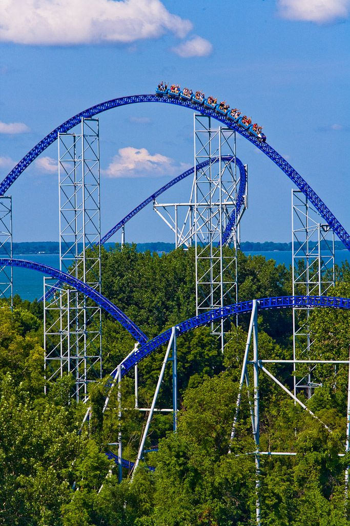 One of my favorite place to be....an amusement park!! Love a good roller coster ride!!!