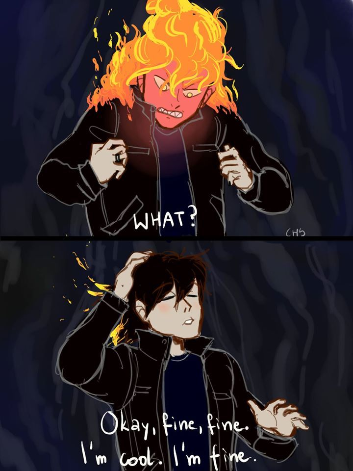 I will bet all my money that Leo actually did this as a joke. XD ... and accidentally set something in fire as well :P
