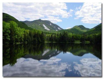 The Adirondack Mountains   A beautiful setting for Lake Placid!  5344 feet above sea level.