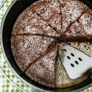 Dutch Oven Double Chocolate Cake | MyRecipes.com