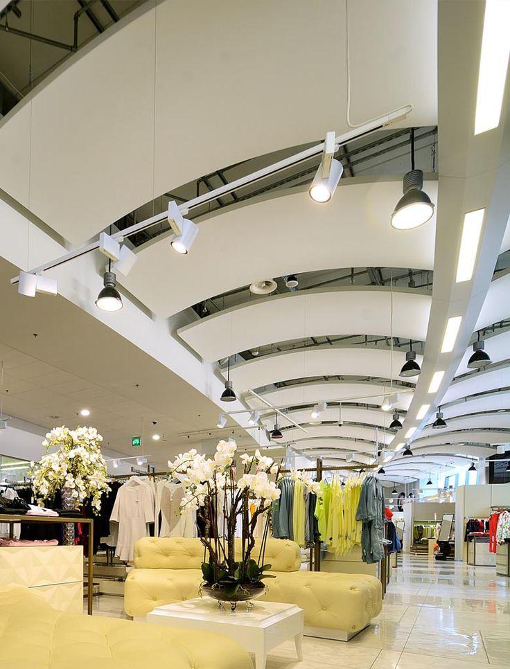 Дизайн интерьеров центра моды «Grande Orchidee». Финляндия (Лаппеенранта) (3500 кв.м.). - Дизайн-студия ICON