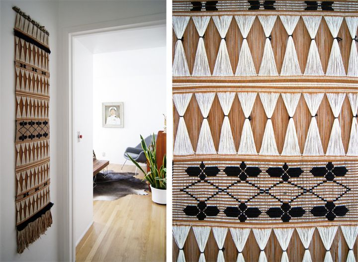 shapes and patterns for the wall.