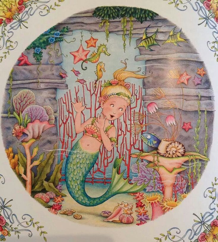 Mary Engelbreit mermaid