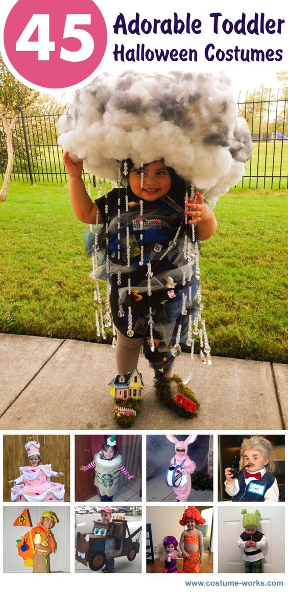 45 Adorable Toddler Halloween Costume Ideas *I'm in love with Tornado, Sharknado, Miss Piggy, & Piñata.*