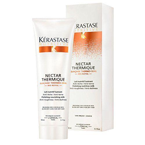nutritive soin nutritif nutritive nectar thermique actif thermo protecteur pour cheveux secs - Kerastase Cheveux Colors