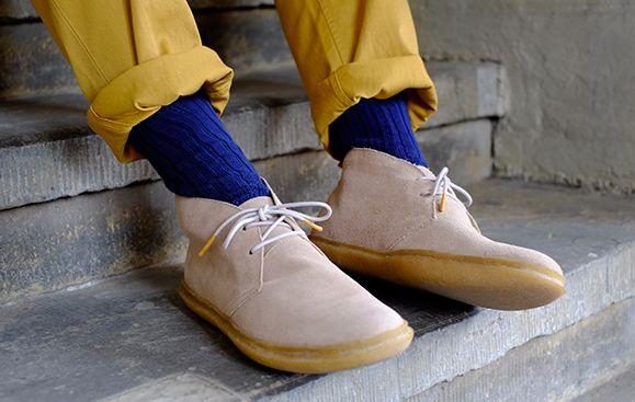 Universal Works X J Shoes Harry Desert Boot