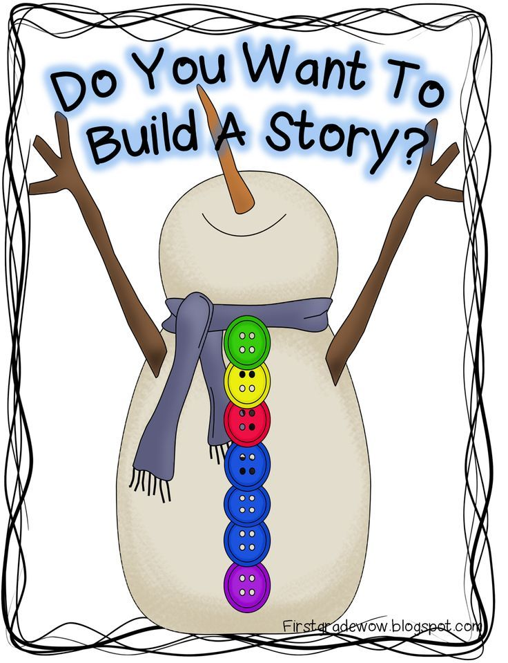 First Grade Wow: Let It Snow! Snowman Retelling Practice FREEBIE