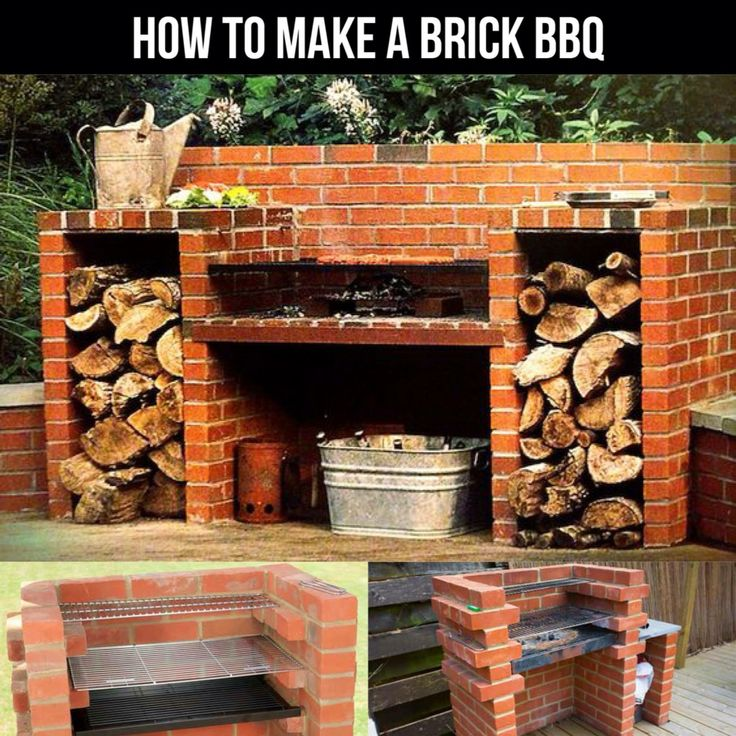 1000 Ideas About Brick Grill On Pinterest Brick Bbq Outdoor Patio Bar And Outdoor Pizza Ovens